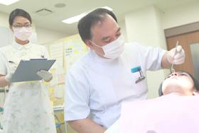 歯科検診の写真