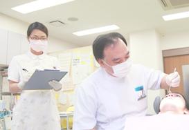 歯科医師による歯科検診